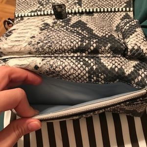 Henri bendel uptown out and about wallet wristlet